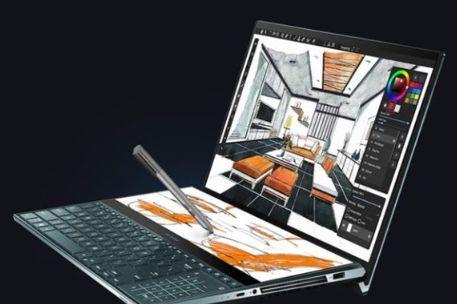 华硕推出新款ZenBook Duo双屏笔记本:i7-10510U处理器加持-2