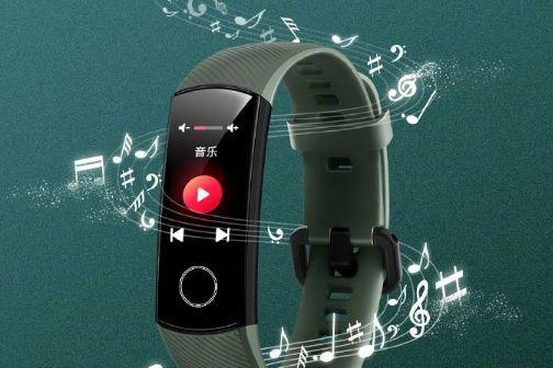 荣耀手环5上线音乐控制功能:可以切换音乐-1
