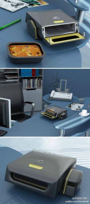伦敦一个设计师设计的桌面版微波炉...... -1