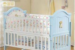 让宝宝睡的安心家长放心—婴儿床-1
