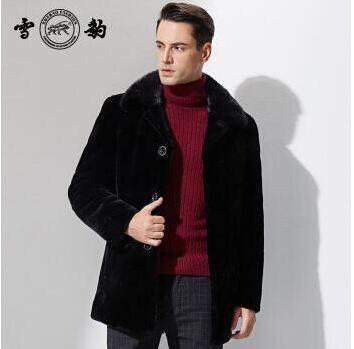 过年如何选购雪豹皮衣,质量好吗??-1