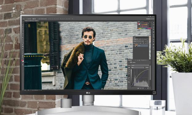 LG新款显示器发布:4K分辨率,颜值好高-3