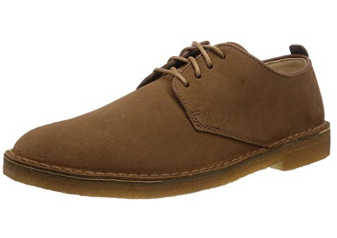 其乐 Clarks Men's Edgewick Plain Derby Brown 休闲鞋怎么样?-1
