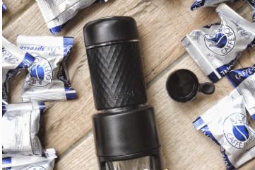 STARESSO 手动胶囊便携咖啡机怎么使用?可以打奶泡吗?-1