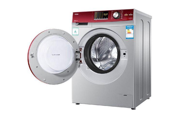 海尔滚筒洗衣机有烘干功能吗?海尔滚筒洗衣机烘干后门打不开?-1