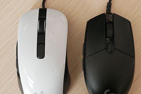 游戏鼠标推荐?赛睿Rival 106和罗技G102对比评测?-1
