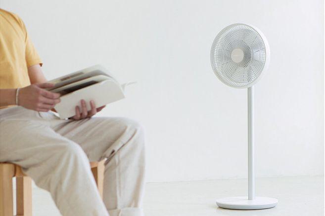 智米电风扇2s跟自然风?风感舒适吗?-1
