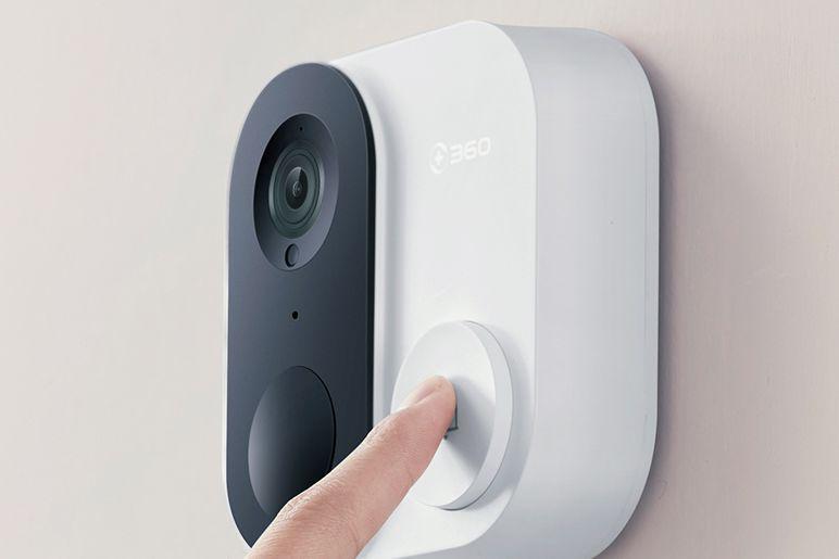 360可视门铃怎么样?360可视门铃有监控摄像头吗?-1
