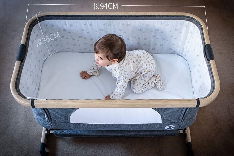 elittile婴儿床怎么样?elittile婴儿床可以移动吗?-1