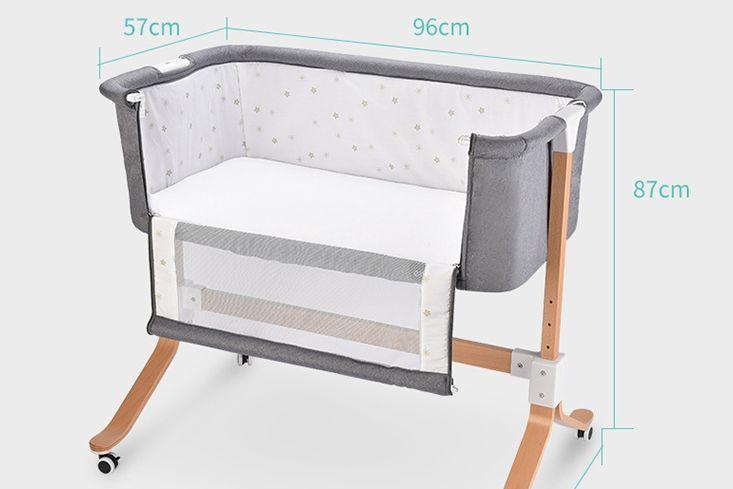 哪款婴儿床好用?谁能推荐一款小户型能用的?-1