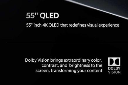 一加电视将于印度率先亮相:55英寸QLED屏幕-2