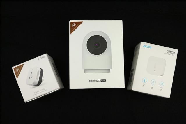 入手绿米摄像机,空调伴侣,温湿度传感器—接入米家体验智能-1