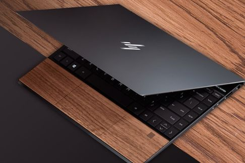 惠普推出ENVY 13木纹板笔记本电脑-1