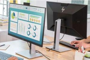 惠普推出新款显示器:USB-C接口丰富-1