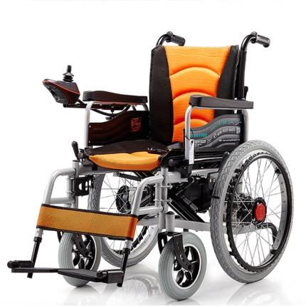 电动轮椅车可折叠轻便智能自动老年人代步车多功能四轮