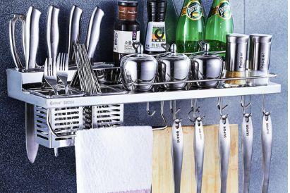 厨房置物架怎么选 厨房置物架材质哪种好-1