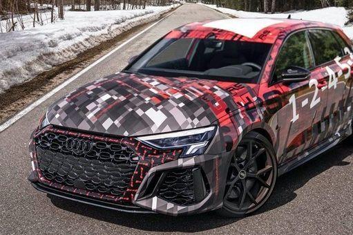 奥迪RS3正式确认7月首发,关于新车图片官方谍照曝光-1
