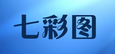 七彩图玉米棒