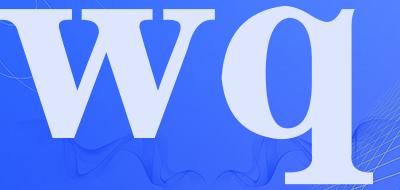 wq是什么牌子_wq品牌怎么样?
