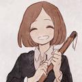 甜甜的微笑
