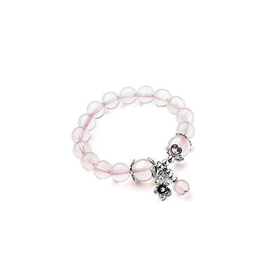 粉水晶手链