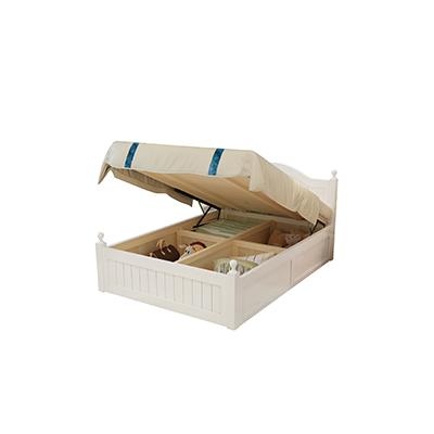 高箱储物床