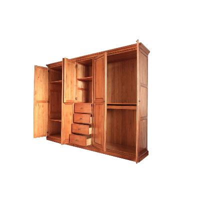 实木组合衣柜哪个牌子好_2020实木组合衣柜十大品牌-百强网